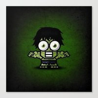 hulk Canvas Prints featuring Hulk by Thorin