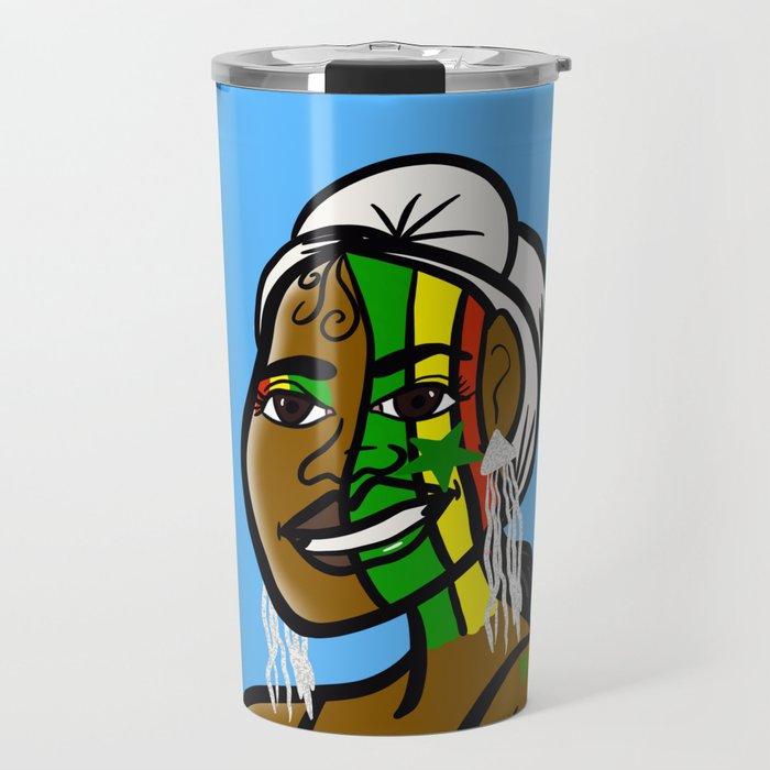 Jamaican Pride Travel Mug