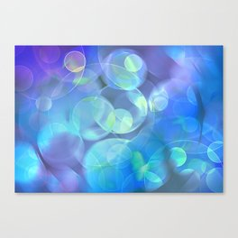 Surreal Fractal Abstract Design Canvas Print