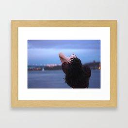 throw your head back Framed Art Print