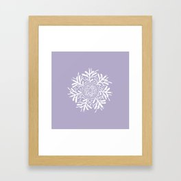 Complicated Flower XII Framed Art Print