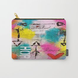 Wish Love Hope Carry-All Pouch