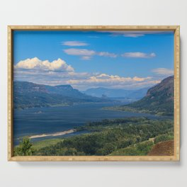 Columbia River Gorge Serving Tray