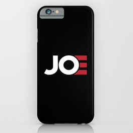 Joe iPhone Case