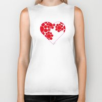 dot Biker Tanks featuring Dot by ♥ Charlie
