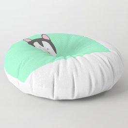 Cute Dog Face T-Shirt for Women, Men and Kids Floor Pillow