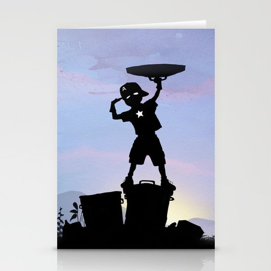 Captain Kid Stationery Cards