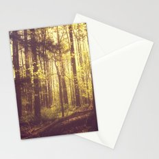She Experienced Heaven on Earth Among the Trees Stationery Cards