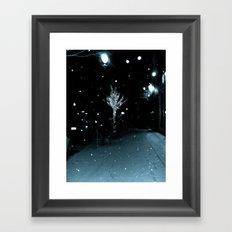WHITEOUT : Wintree Framed Art Print