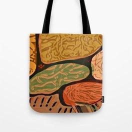 Terracotta HappyMess #society6 #buyart Tote Bag