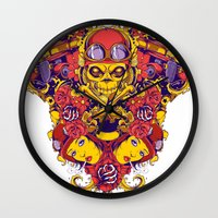 pilot Wall Clocks featuring Pilot by Tshirt-Factory