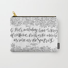 As Sure As The Sunrise Carry-All Pouch