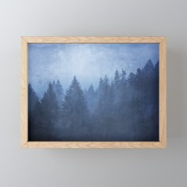cool woods Framed Mini Art Print
