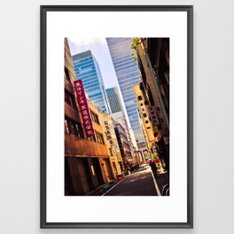 Tokyo Alley Framed Art Print