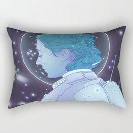 Astronaut Girl Rectangular Pillow