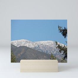 Southern California Snow Tease Mini Art Print