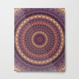 Mandala 590 Metal Print