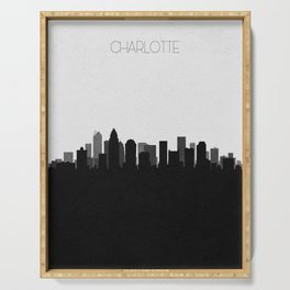 City Skylines: Charlotte Serving Tray