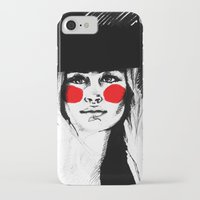 clown iPhone & iPod Cases featuring Clown by Guinevere Maerckx