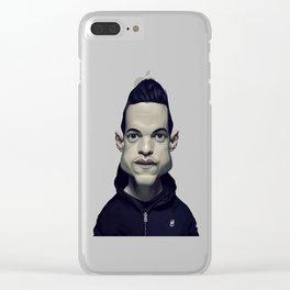 Rami Malek Clear iPhone Case