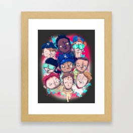 Sandlot Framed Art Print