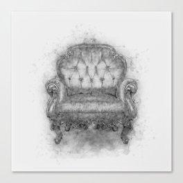 Sit a Bit! Canvas Print