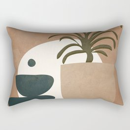 Abstract House Decoration Rectangular Pillow