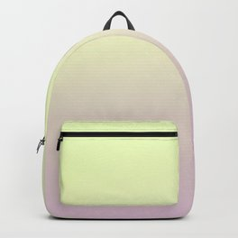 FRESH START - Minimal Plain Soft Mood Color Blend Prints Backpack