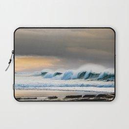 Hams Beach Dawn Laptop Sleeve