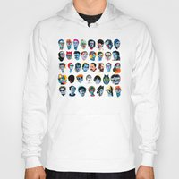 talking heads Hoodies featuring Heads by Alvaro Tapia Hidalgo