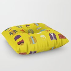 W.A Luggage Floor Pillow