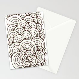 Dot Cluster 4 Stationery Cards