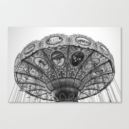 Swing Carousel Canvas Print