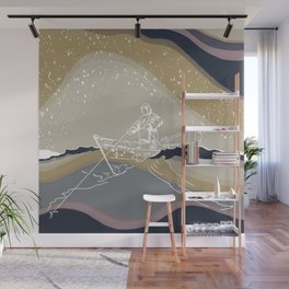 Gunnar- turned to have matching sets  Wall Mural