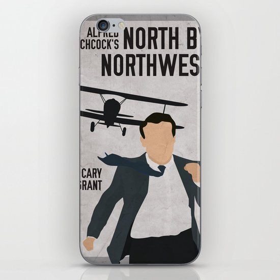 Alfred Hitchcock's North By Northwest Movie Print iPhone & iPod Skin