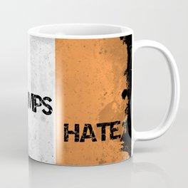 Love Trumps Hate - Trump to visit Ireland in November 2018 - A Response Coffee Mug