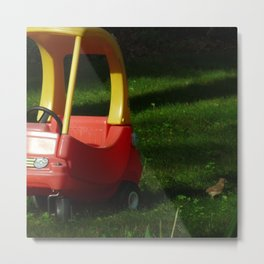 Taxi Please Metal Print