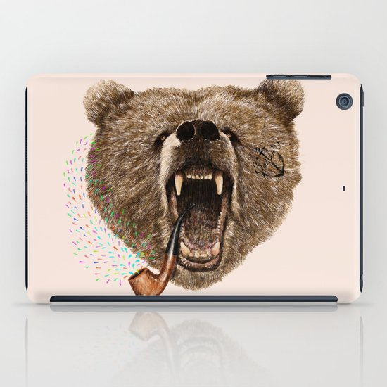 Angry Bear iPad Case
