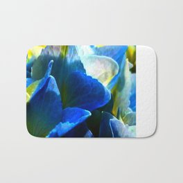Hydrangea Blue Bath Mat