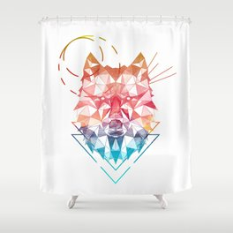 Spirit of the Wolf Shower Curtain