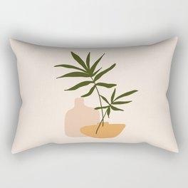 GIOIA DEI FIORI - the joy of flowers - Modern abstract art illustration Rectangular Pillow