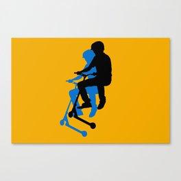Landing Gears - Stunt Scooter Rider Canvas Print