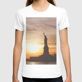 Lady at Sunset T-shirt