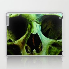 green skull Laptop & iPad Skin
