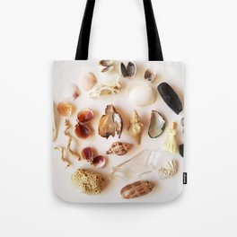 Gull Skull with Plastic Princess Tote Bag