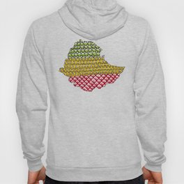 Patterns on Ethiopia Hoody