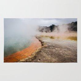 Thermal Wonderland- Artists Pallet Rug