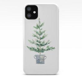 Christmas fir tree iPhone Case