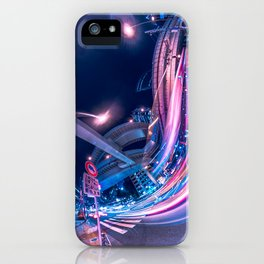 Tokyo Neon Night Light iPhone Case