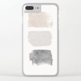 Stains Clear iPhone Case